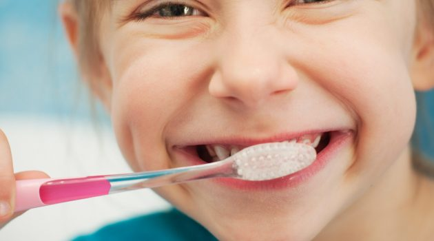 Have fun and get kids to brush teeth