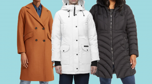 Select the women coat and jackets for gift ideas